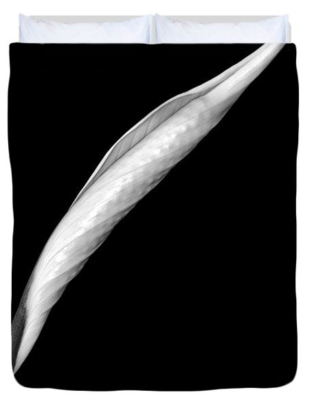 Peace Lily II Duvet Cover by Jeff Burton