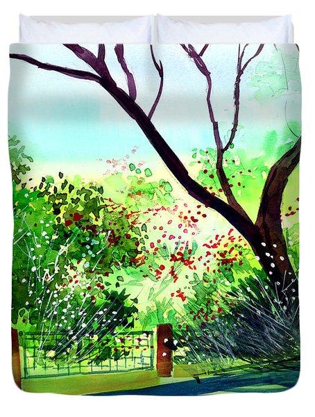 Peace Of Mind 1 Duvet Cover by Anil Nene