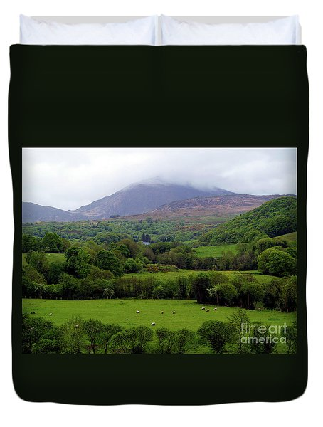 Peace On The Emerald Isle Duvet Cover by Patricia Griffin Brett