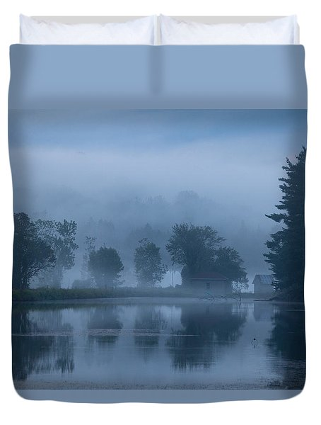 Peaceful Blue Duvet Cover