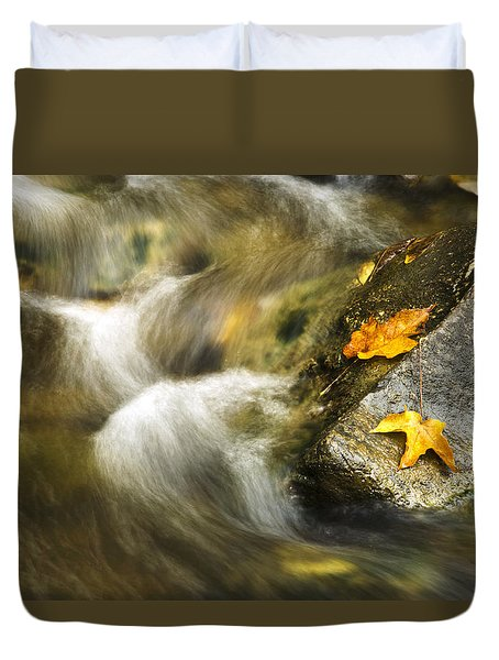 Peaceful Creek Duvet Cover by Christina Rollo