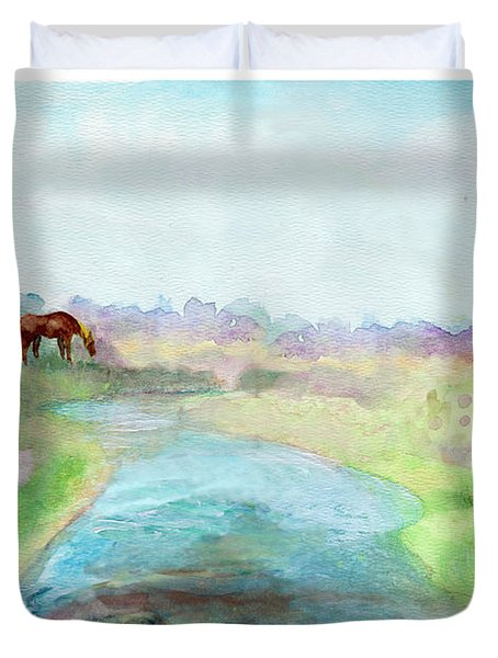 Peaceful Day Duvet Cover by C Sitton