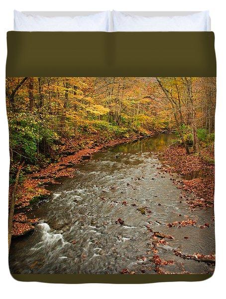 Peaceful Fall Duvet Cover
