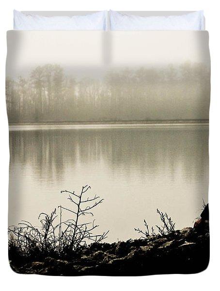 Peaceful Fog Duvet Cover