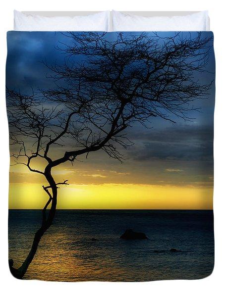 Peaceful Hawaii Duvet Cover by Kim Hojnacki