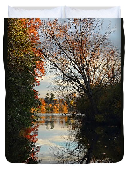 Peaceful October Afternoon Duvet Cover