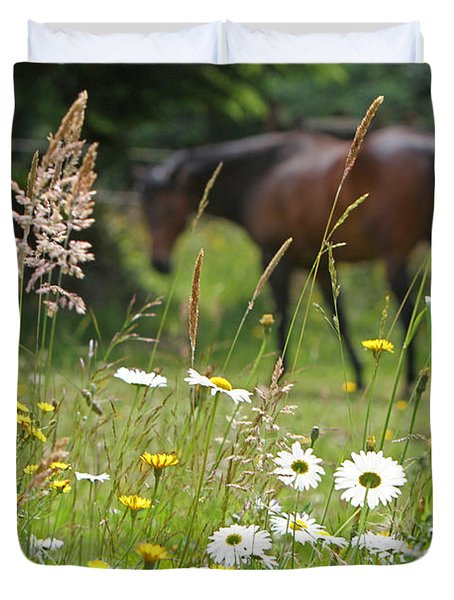 Peaceful Pasture Duvet Cover