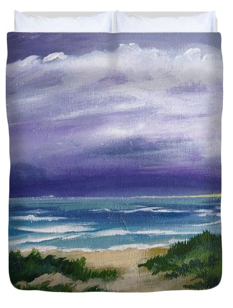 Peaceful Sunrise Duvet Cover