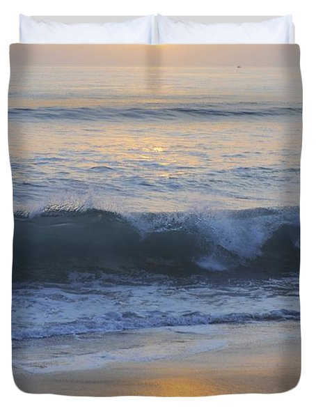 Peaceful Sunset Duvet Cover