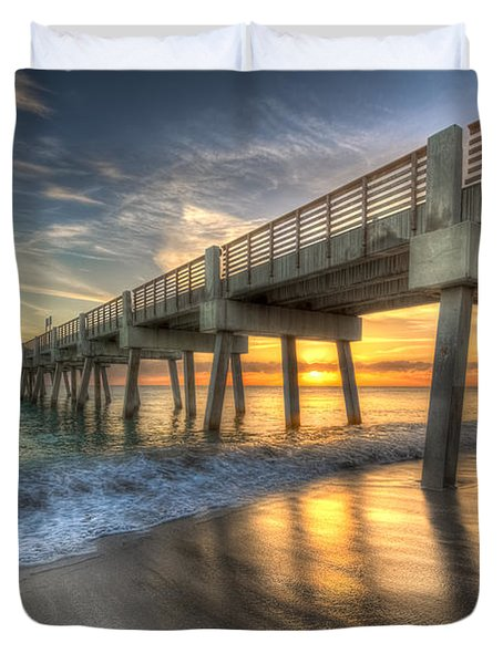 Peaceful Surf Duvet Cover
