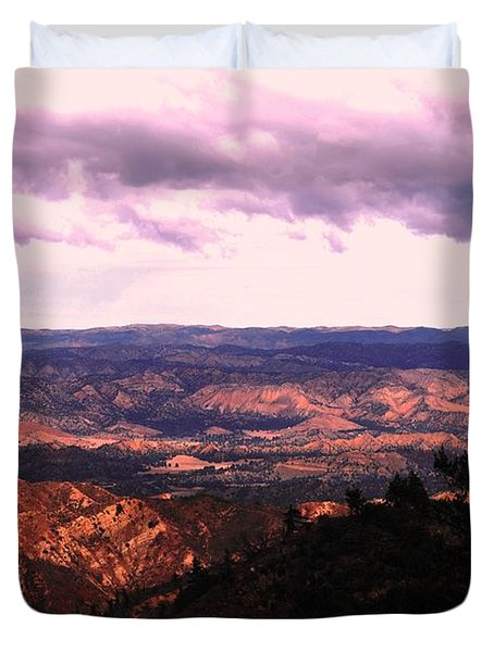 Duvet Cover featuring the photograph Peaceful Valley by Matt Harang
