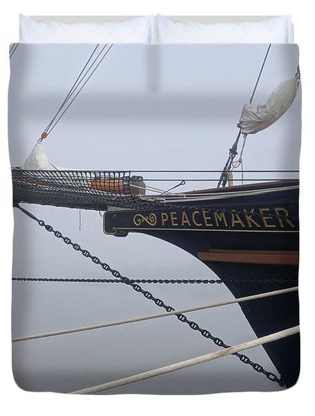 Peacemaker Duvet Cover by Julia Wilcox