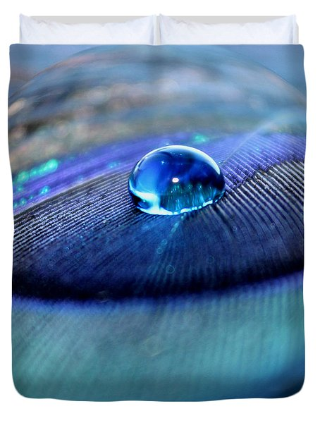 Peacock Globe Duvet Cover