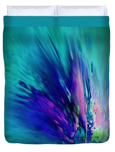 Peacock Paradise Duvet Cover