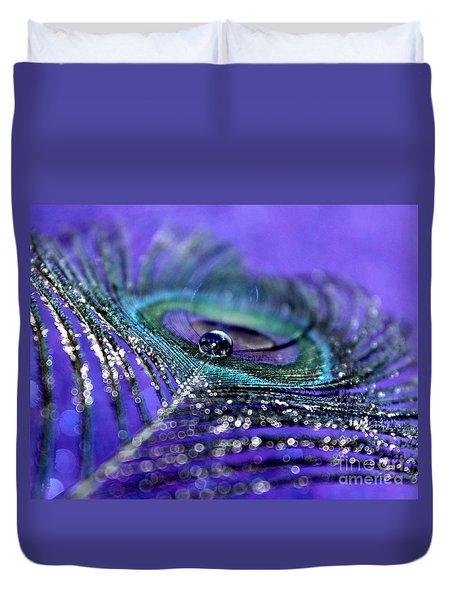 Peacock Spirit Duvet Cover