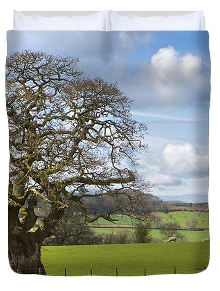 Peak District Tree Duvet Cover