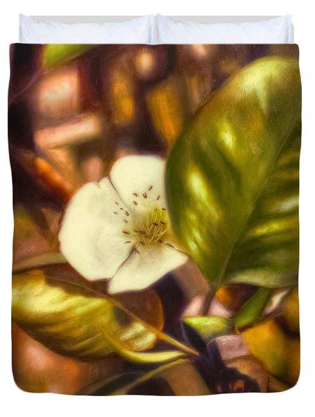 Pear Blossom Duvet Cover
