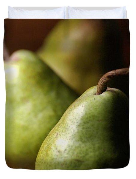 Pear Delight Duvet Cover by Joy Watson