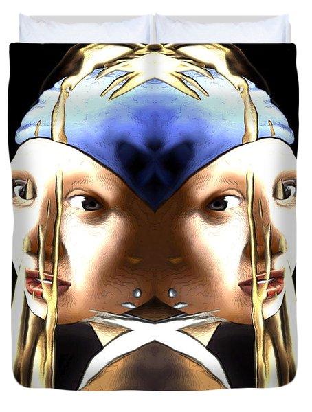 Pearl Earring Pearl Duvet Cover