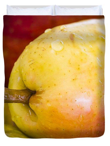 Pears Duvet Cover by Warrena J Barnerd