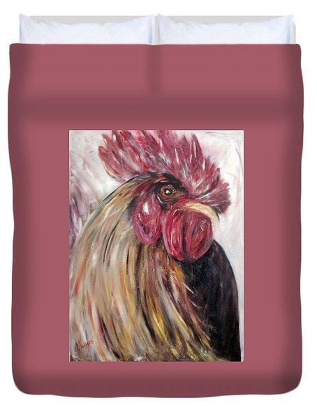 Pecking Order Duvet Cover