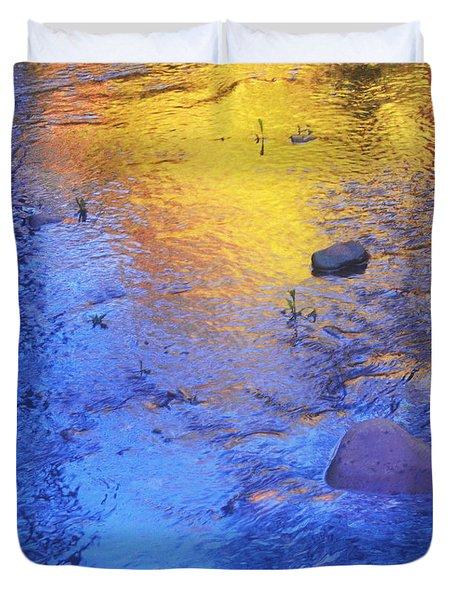 Pecos Reflection Duvet Cover