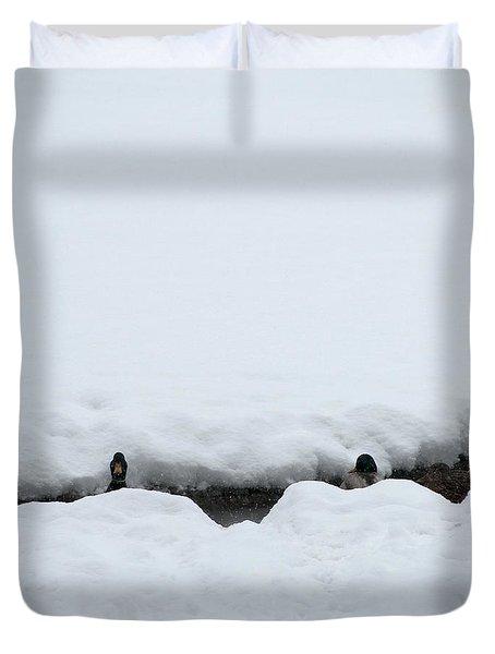 Peek-a-boo Duvet Cover