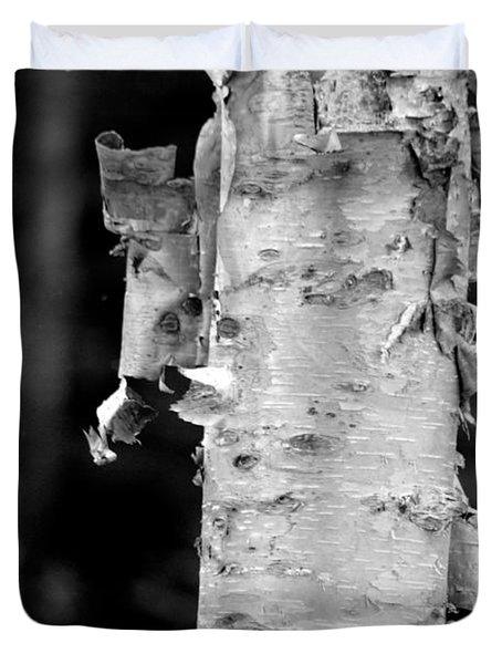 Peeling Birch Duvet Cover