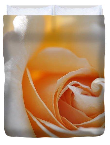 Pegasus Rose  Duvet Cover by Sabine Edrissi
