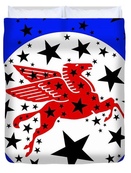 Pegasus Duvet Cover by Russell Pierce