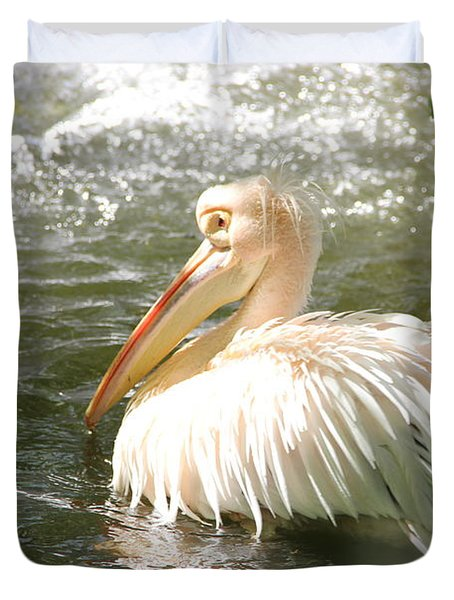 Pelican Bath Time Duvet Cover
