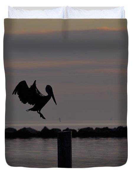Pelican Landing Duvet Cover