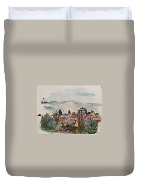 Pelican Point Duvet Cover