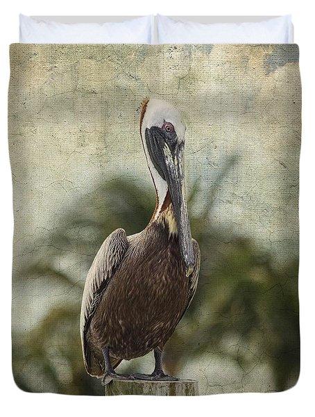 Pelican - Sitting Around Duvet Cover