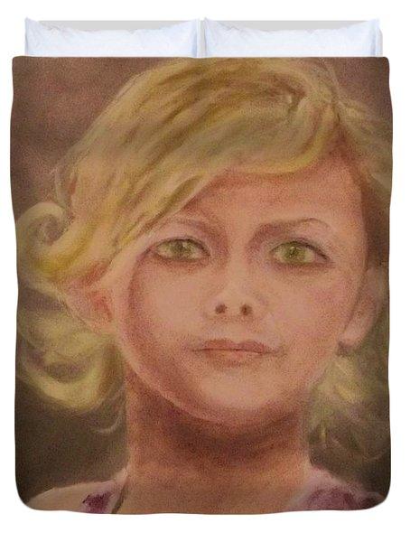 Penelope Duvet Cover by Stephen King