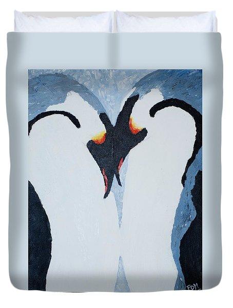Penguin Love Duvet Cover