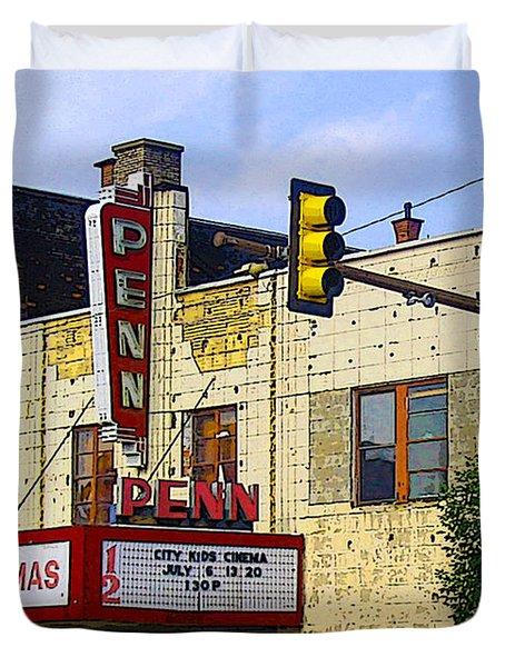 Penn Cinemas In Ohiopyle Duvet Cover by Nina Silver