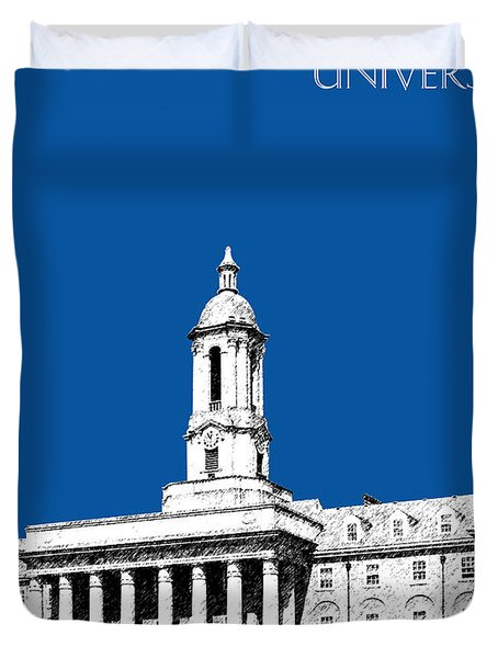 Penn State University - Royal Blue Duvet Cover