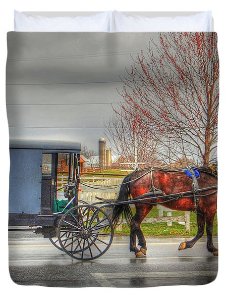 Pennsylvania Amish Duvet Cover