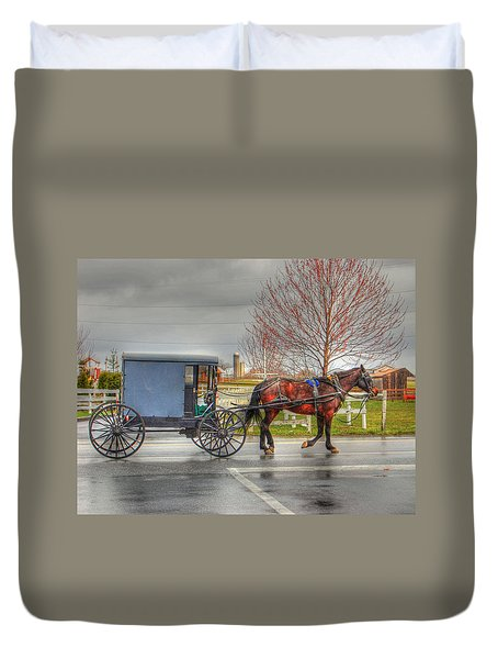 Pennsylvania Amish Duvet Cover