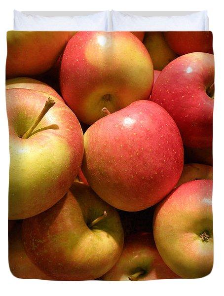 Pennsylvania Apples Duvet Cover