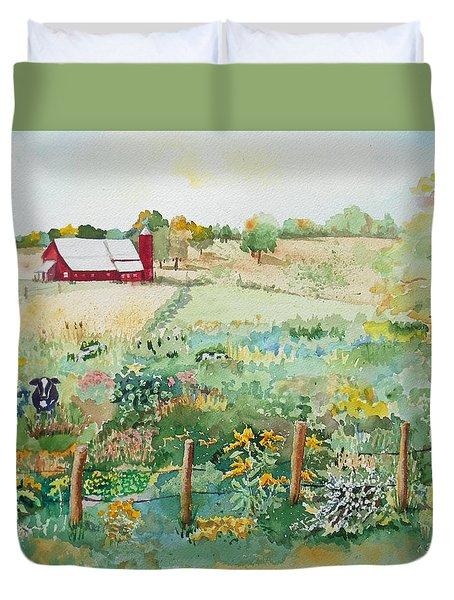 Pennsylvania Pasture Duvet Cover