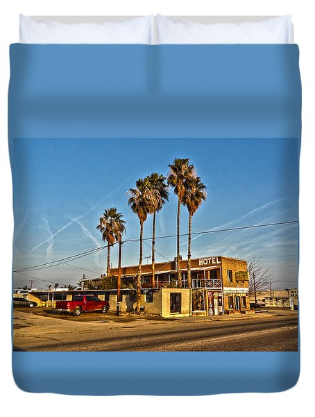 Penny Bar Mckittrick California Duvet Cover