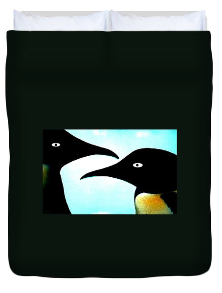 Penquin Love Duvet Cover