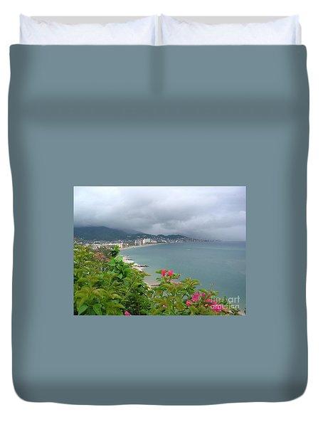 Penthouse View - Puerto Vallarta Duvet Cover