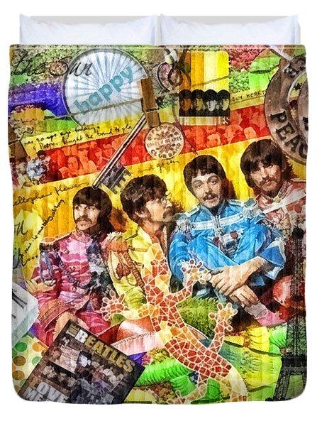 Pepperland Duvet Cover