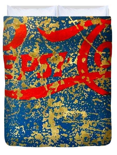 Pepsi Duvet Cover by Newel Hunter