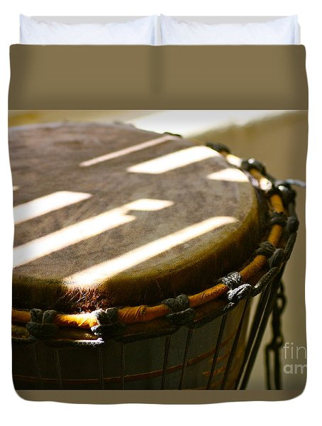 Percussion Light Duvet Cover