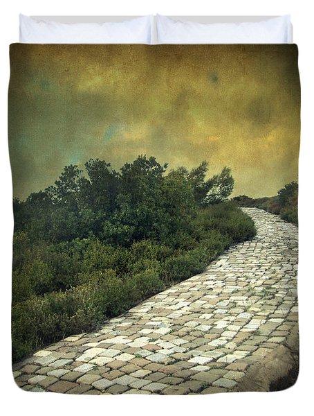 Perdus Et Trouves Duvet Cover by Taylan Apukovska