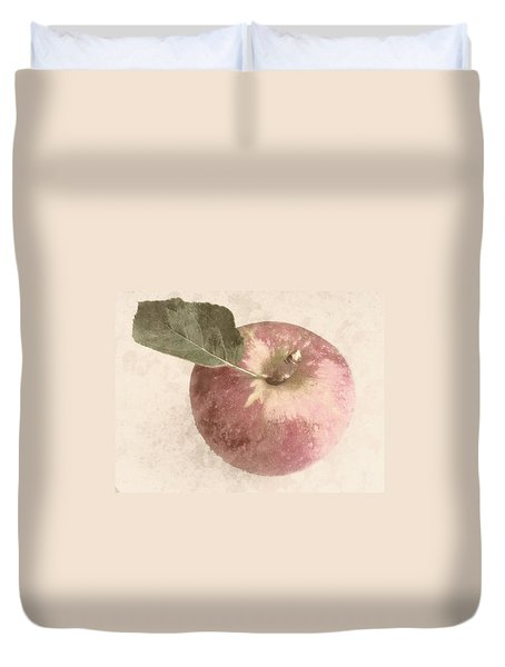 Perfect Apple Duvet Cover by Photographic Arts And Design Studio